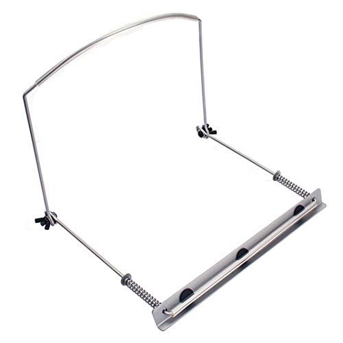 difcuyg5Ozw Lightweight 24 Holes Harmonica Neck Holder Adjustable Mouth Organ Support Stand Bracket Durable Instrument Accessories- Silver (Support Harmonica)