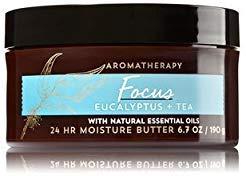 Bath & Body Works Aromatherapy Focus - Eucalyptus & Tea Body Butter (6.7 oz)