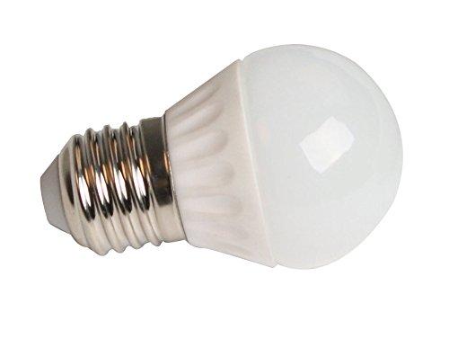(alta calidad) elumico 180° bombilla LED 4 vatios, de luz blanca cálida - de colour blanco ...