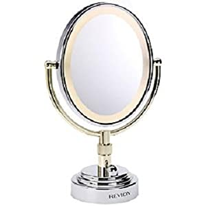 Revlon 9426u Deluxe Illuminated Oval Mirror Amazon Co Uk