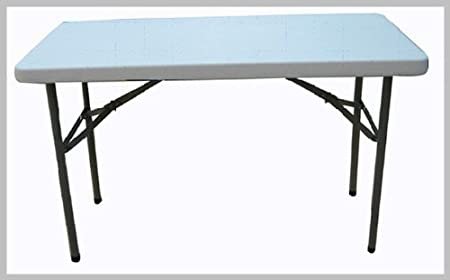 4 ft – Mesa Plegable con Patas Plegables. FT5, Extra Fuerza, 98 ...