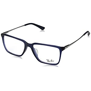 Ray-Ban Unisex 0RX5343D 55mm Matte Blue One Size