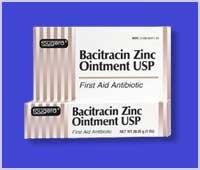 Bacitracin, Zinc First aid Antibiotic (Fougera Bacitracin Zinc Ointment)