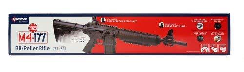 Crosman Tactical Air Rifle black .177 Cal by Crosman
