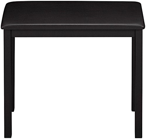 Review Casio CB7 BK Piano Bench with Padded Seat, Black