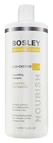 Price comparison product image Bosley Professional Strength Bosdefense Shampoo For Color-Treated Hair, 33.8 oz
