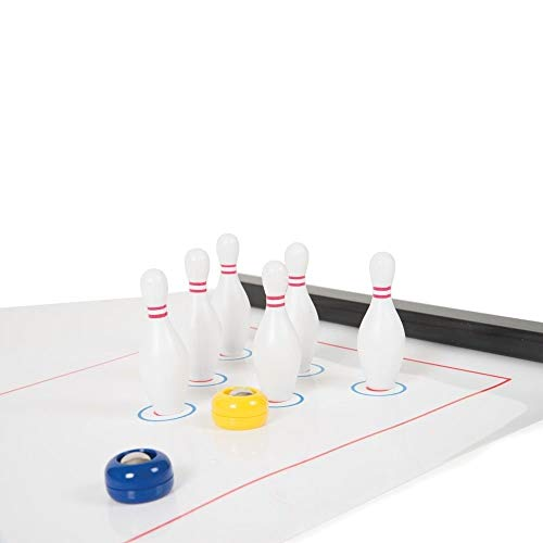 Bowling Table Games for Families, Quick and Easy to Set Up for Adults and Kids, Travel Game, Family Game by C&H Solutions