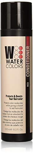 Tressa Watercolors Red Color Conditioner for use after Crimson Splash, Fluid Fire, Liquid Cooper, or Wet Brick Watercolors Shampoo - NEW PACKAGING! 8.5 oz - This choice is for the Red Color Only!