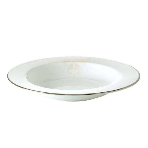 Lenox Opal Innocence Scroll Rim Bowl