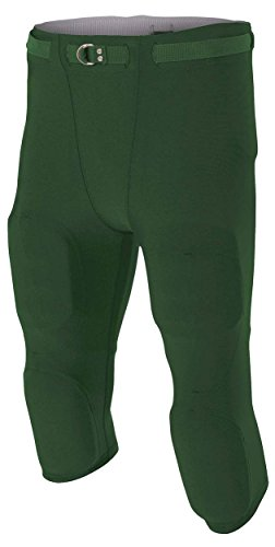 A4 Boy's Flyless Integrated Football Pant ()