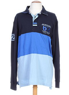 HommeVêtements Polos Tops T Jezequel Et Shirts Bleu TJ15uFclK3