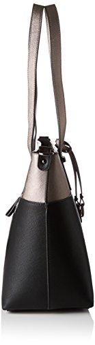 Gabor Tivoli - Shoppers y bolsos de hombro Mujer Plateado (Altsilber)