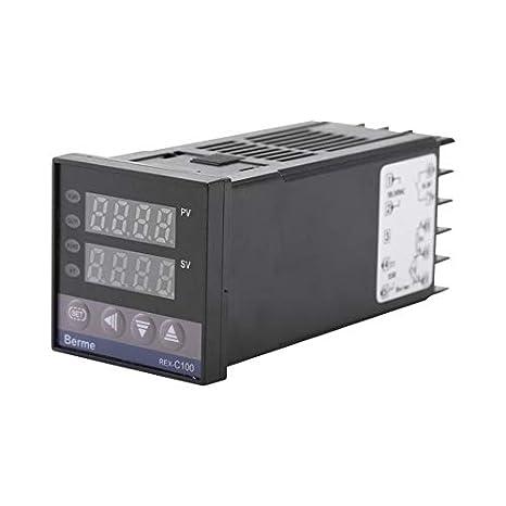 AMZVASO - Dual Digital PID Temperature Controller REX-C100 ...