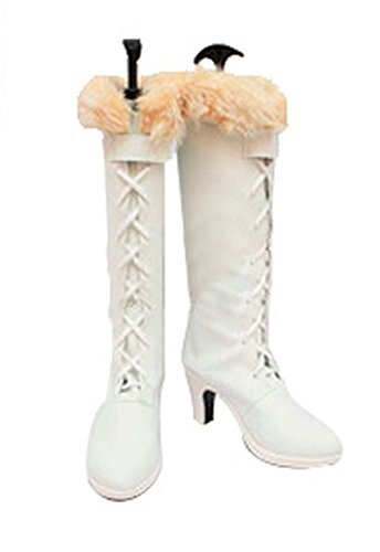 JAPAN-COSPLAY-Schuhe-ONE-PIECE-Nico-Robin-Stiefel-Damen