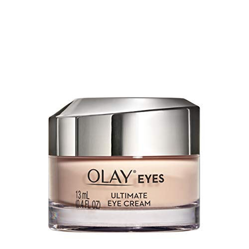 Olay Ultimate Eye Cream for Wrinkles, Puffy Eyes + Dark Circles, 0.4 fl oz (Best Cream For Wrinkles Around Eyes)