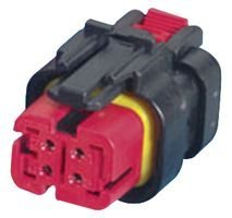 TE CONNECTIVITY 5 pieces AMP 776487-1 PLUG AND SOCKET CONNECTOR HOUSING