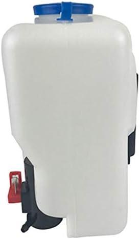 Semoic 12V 1.5L Universal Motorcycle Car Wind Shield Washer Reservoir Pump Bottle Kit