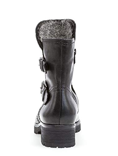Glattleder Gabor Ankle 92 Shiraz Boot Schwarz 093 Y6FxOq