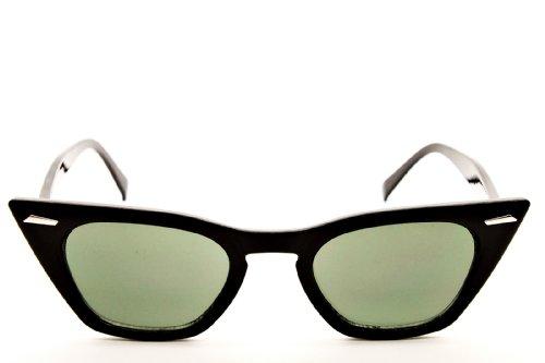 E27-vp Style Vault(TM) Cateye Eyeglasses Sunglasses (Shpsd Black)
