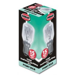 Eveready Pygmy 15W SES Clear 10 Pack