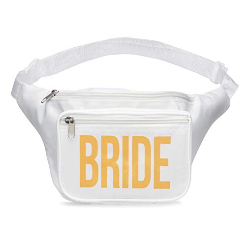 Bride Fanny Pack Bachelorette Party Favorite (White) -