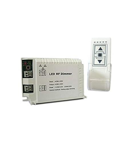 Lampade Led 220v.Varialuce Led Triac Dimmer Scr 220v 200w Telecomando