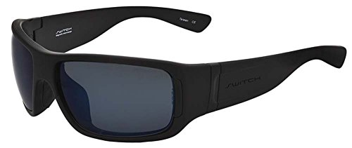Switch Vision Sunglasses- Headwall Wrap Matte Black