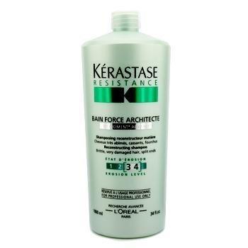 L'Oreal Kerastase Resistance Bain Force Architecte Reconstructing Shampoo 1000ml/34oz - Brittle, Very - Loreal Kerastase Resistance