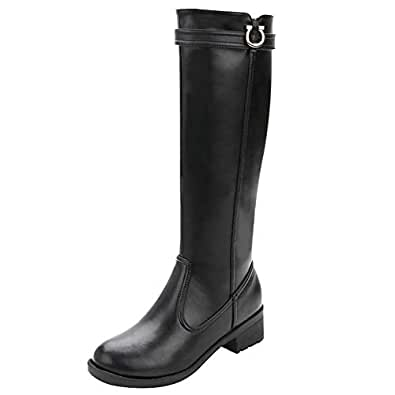 Amazon.com | rismart Women's Knee High Tall Winter
