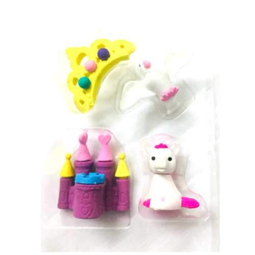 Buy Frozen Girl Character Non Toxic Eraser Set