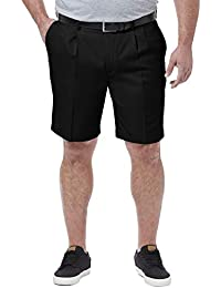 Men's Big & Tall Cool 18 Pro Pleat Front Short