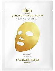 Elixir Cosmetics Gold Korean Face Mask - Moisturizing...