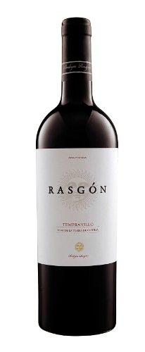 6x 0,75l - 2015er - Bodegas Rasgón - Tempranillo - Vino de la Tierra de Castilla - Spanien - Rotwein halbtrocken