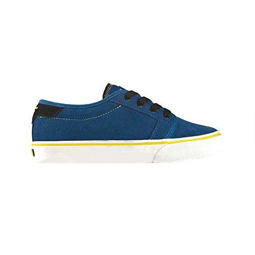 Fallen FORTE Youth 43070006 - Zapatillas de skate de ante para niños roy/yel(higligh)