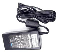Black Adapter Charger For Verifone Vx 520 Pos Dual Comm Emv Reader 90 Degree Power Supply Cord Cable