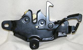 89-91 TOYOTA PICKUP HOOD LATCH TRUCK, DLX/SR5 Model (1989 89 1990 90 1991 91) T132308 ()