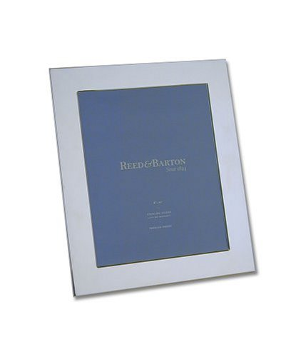 Reed & Barton Wide Border 8-by-10-Inch Sterling Silver Picture Frame
