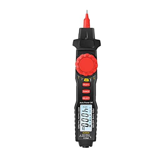 디지털 멀티 미터 전압계 DC AC 테스터 A3004 펜 유형 백라이트 디스플레이 저항 전류 커패시턴스
