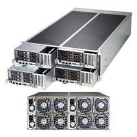 Supermicro - SYS-F627R2-F72+ - System SYS-F627R2-F72+ 4U 1280W 6xHot Swap 2.5inch PCI Express Retail