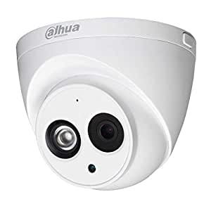 Dahua 4MP PoE IP Security Camera IPC-HDW4433C-A,4 Megapixels Super HD Outdoor Surveillance Camera Dome with Built-in Mic for Audio,IR Night Vision,H.265,IP67 Waterproof,ONVIF (2.8mm Lens)