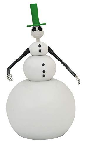 DIAMOND SELECT TOYS The Nightmare Before Christmas: Snowman Jack Select Action Figure, Multicolor