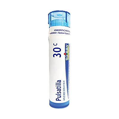 Boiron Homeopathic Medicine Pulsatilla, 6C Pellets, 80-Count Tubes (Pack of 5)