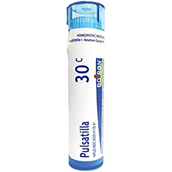 Boiron Pulsatilla 30C, 80 Pellets, Homeopathic Medicine for Colds