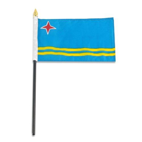 US Flag Store Aruba Flag, 4 by 6-Inch