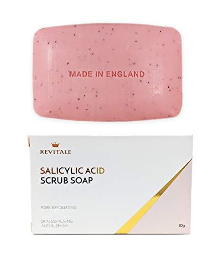 🥇 Jabón exfoliante con ácido salicílico poro exfoliante