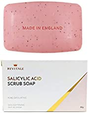 Revitale Salicylic Acid Scrub Soap, Pore Exfoliating, Softening Skin, Anti-Blemish