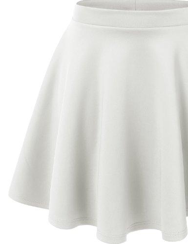 MBJ-Womens-Basic-Versatile-Stretchy-Flared-Skater-Skirt-Made-in-USA