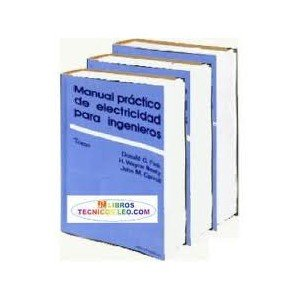 Fink Manual Practico De Electricidad Para Ingenieros (3 Vols.)., Do ...