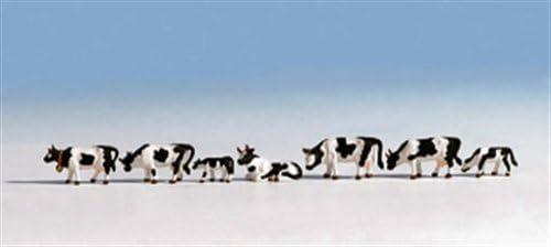 Noch 45721 Cows Black//White 7// Tt Scale  Figures