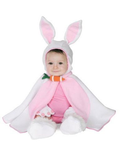 Cute Mad Hatter Costume For Girls (Lil Bunny Caped Cutie Baby Infant Costume - Infant)